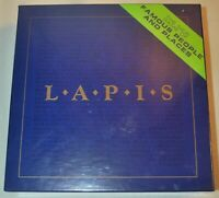 Vintage LAPIS Board Trivia Word Game New in Box 1990
