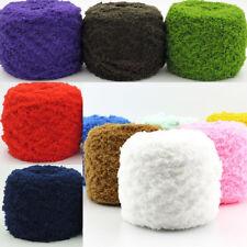Sale Natural Hand knitting Crochet Coral cashmere Plush Fluffy Yarn Chunky 100g