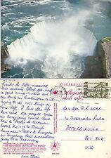 1971 NIAGARA FALLS ONTARIO CANADA COLOUR POSTCARD