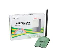 ALFA AWUS036NH 1000MW WIFI Wireless USB Network Adapter 5DB Antenna