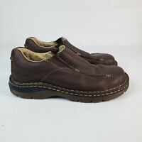 Dr Martens Mens 11233 Loafers Tevin Leather Brown Slip On Comfort Shoes Size 8 M