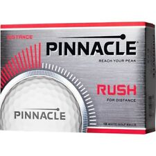 Pinnacle Rush Golf Balls (One Dozen) White w/logo NIB