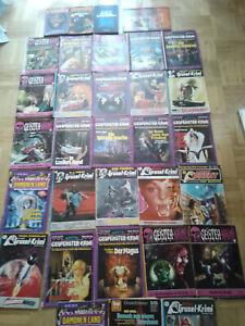 34x Geister ,Gespenster Krimi, Larry Brent, Vampir Horror Roman, Dämonenkiller