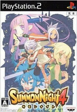 Used PS2 Summon Night 4   Japan Import (Free Shipping)