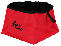 Trixie Dog handy Travel Folding Water Bowl polyester great for on tour & walks