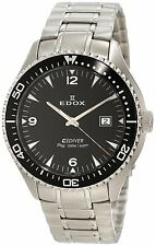 EDOX C1 Class 1 Diver Stainless Steel Men's Swiss watch 70157 3 NIN