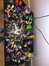 Vintage Tmnt Ninja Turtles16 Figures/ Parts over 150 Accessories & Vehicle Parts