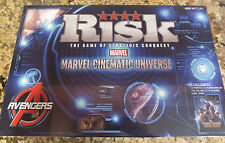 NEW Marvel Avengers Risk Board Game- Marvel Cinematic Universe- 2 Games Included