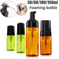 30-150ml Plastic Foamer Bottle Pump Liquid Foaming Soap Container Travel Use Lot