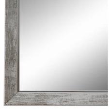 Spiegel Wandspiegel Flurspiegel Bad Weiss Silber Vintage Frosinone 1,8 - NEU