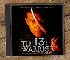 THE 13TH WARRIOR Jerry Goldsmith COMPLETE SCORE 13 previously unreleased tracks
