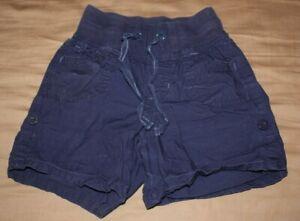 Justice Blue Shorts Girls 8 Slim