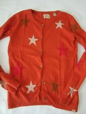 Scotch R'Belle Strickjacke Gr. 16 170 Orange Sterne