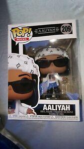 Funko Pop! MUSIC ROCKS Aaliyah Rocks  Pop #209 IN STOCK READY TO SHIP