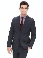 Banana Republic Modern Slim Navy Wool Suit Jacket  SIZE 40 R  #673252