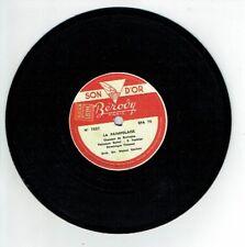 78T Disque 17 cm D. TIRMONT - LA PAIMPOLAISE - MA NORMANDIE Chanté BEROVY 7837