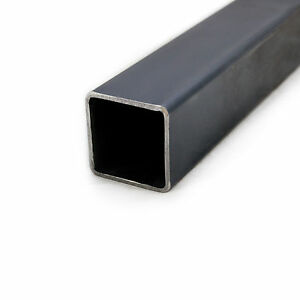 MILD STEEL SHS SQUARE BOX SECTION 20 25 30 40 50 60 MM VARIOUS LENGTHS & WALL