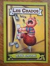 Image * Les CRADOS 3 N°160 * 2004 album card Sticker FRANCE Garbage Pail Kid