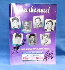 """""""Meet the Stars"""" 1994 Houston Chronicle Booklet for Houston Special Olympics"""