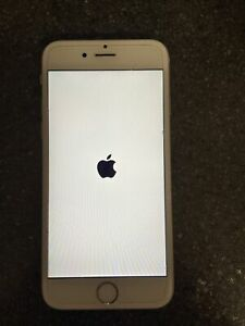 Iphone 6S White Silver Locked To T Mobile Mint Ultra