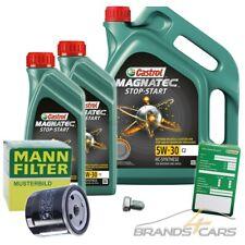 MANN ÖLFILTER+7L CASTROL MAGNATEC STOP-START 5W-30 FÜR FIAT DUCATO 250 2,3D