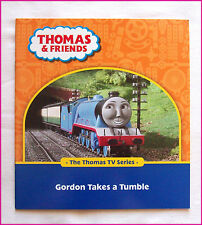 THOMAS & FRIENDS BOOK - Gordon Takes a Tumble - TRAIN TV Series - 28pgs NEW