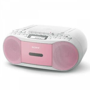 SONY CFD-S70 CD Boombox with Recorder FM AM Wide-FM 3 Colors Fast Ship Japan EMS
