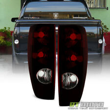 Red Smoke 2004-2012 Chevy Colorado Gmc Canyon Tail Lights Lamps Pair Left+Right