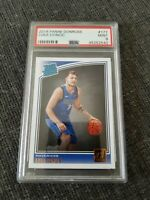 2018 Luka Doncic Rated Rookie Donruss  PSA 9 #177