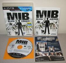 MEN IN BLACK Alien Crisis PlayStation 3 PS3 Complete w/Manual Activision Shooter