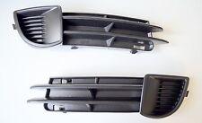 AUDI A3 8P 03-08 Gitter Blende Stoßstange Nebelscheinwerfer SET VORNE L+R MM