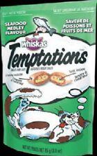 (36) Whiskas 70122 3oz Temptations Seafood Medley Crunchy Cat Snacks Treats Food
