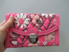 Vera Bradley Blush Pink Ultimate Wristlet Faux Leather Credit Card NEW with TAGS