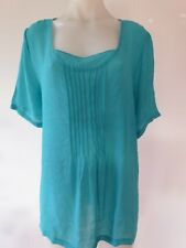 Womens ladies top jacket tunic plus size short sleeve top 14 16 18 20 22 24 NEW