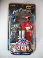 Mighty Morphin Power Rangers Lightspeed Rescue WALKIE TALKIES Sealed MOC NEW S