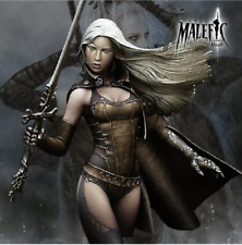 1/12 Bust Resin Kit figure woman warrior model unassambled Unpainted