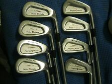 TaylorMade Forged by MIURA X-300 FCI Irons 3-P Project X Tour stiff shafts MINT!