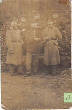 Soldats allemands guerre 14-18 photo sur CPA lot 68