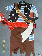 Costume PIRATE - 7/8 ans  - neuf