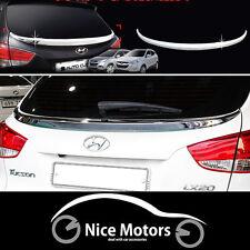 Chrome Trunk Lip Spoiler For Hyundai Tucson ix35 2011 2014