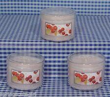 3 Bath & Body Works Cranberry Pear Bellini 1.3 oz Mini Scent Candle
