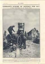 1917 German Concrete Mixer Vienna Made Handley Page Caproni Machine