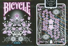 CARTE DA GIOCO BICYCLE TRANSDUCER NIGHT SAKURA,poker size
