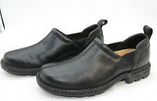 UGG Australia Dyersville Slip-On Loafers Black Leather Comfort Shoes Mens Sz 8