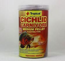 Cichlid Carnivore Medium Pellet Tropical 1000ml for Large Cichlids 11,99 €/ L