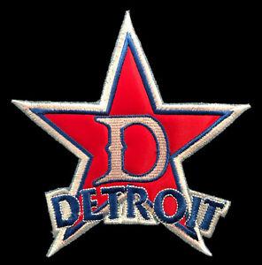 "DETROIT STARS NEGRO LEAGUE BASEBALL 5.5"" STAR LOGO TEAM PATCH"