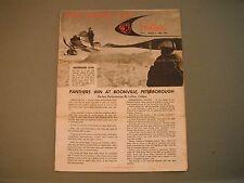 1969 Arctic Cat Panther Racing News Brochure Volume 1 Number 2 May, 1969