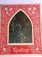 Lot of 3 Vintage 1961 Christmas Cards, Ephemera, Crafts
