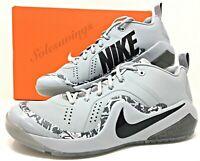 Nike Force Zoom Trout 4 Wolf Grey Mens Baseball/Softball Turf Shoes (917838-002)