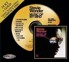 STEVIE WONDER Music Of My Mind LMTED REMAST 24 KARAT GOLD AUDIO FIDELITY HDCD